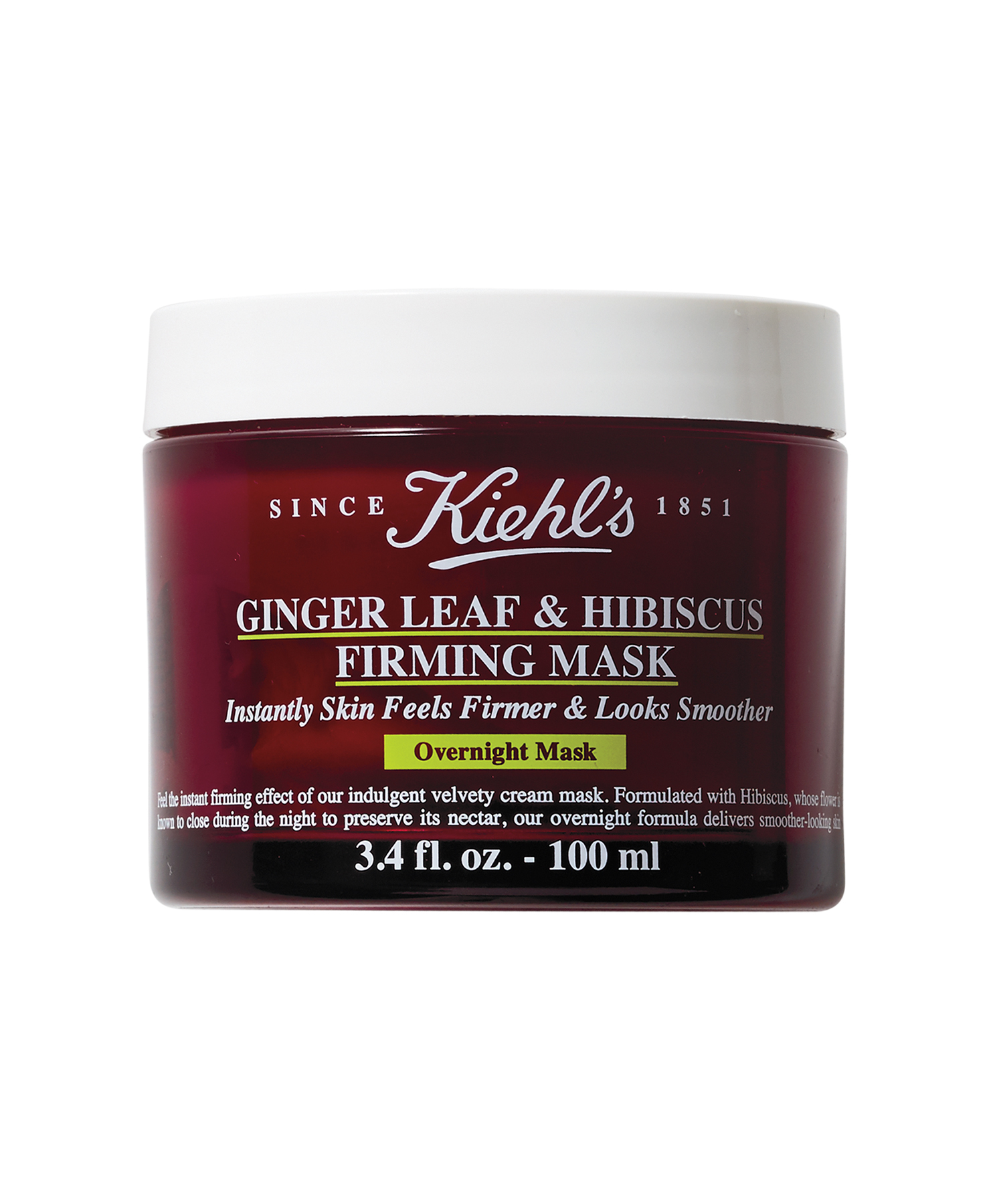 Kiehl's Ginger Leaf & Hibiscus Firming Mask