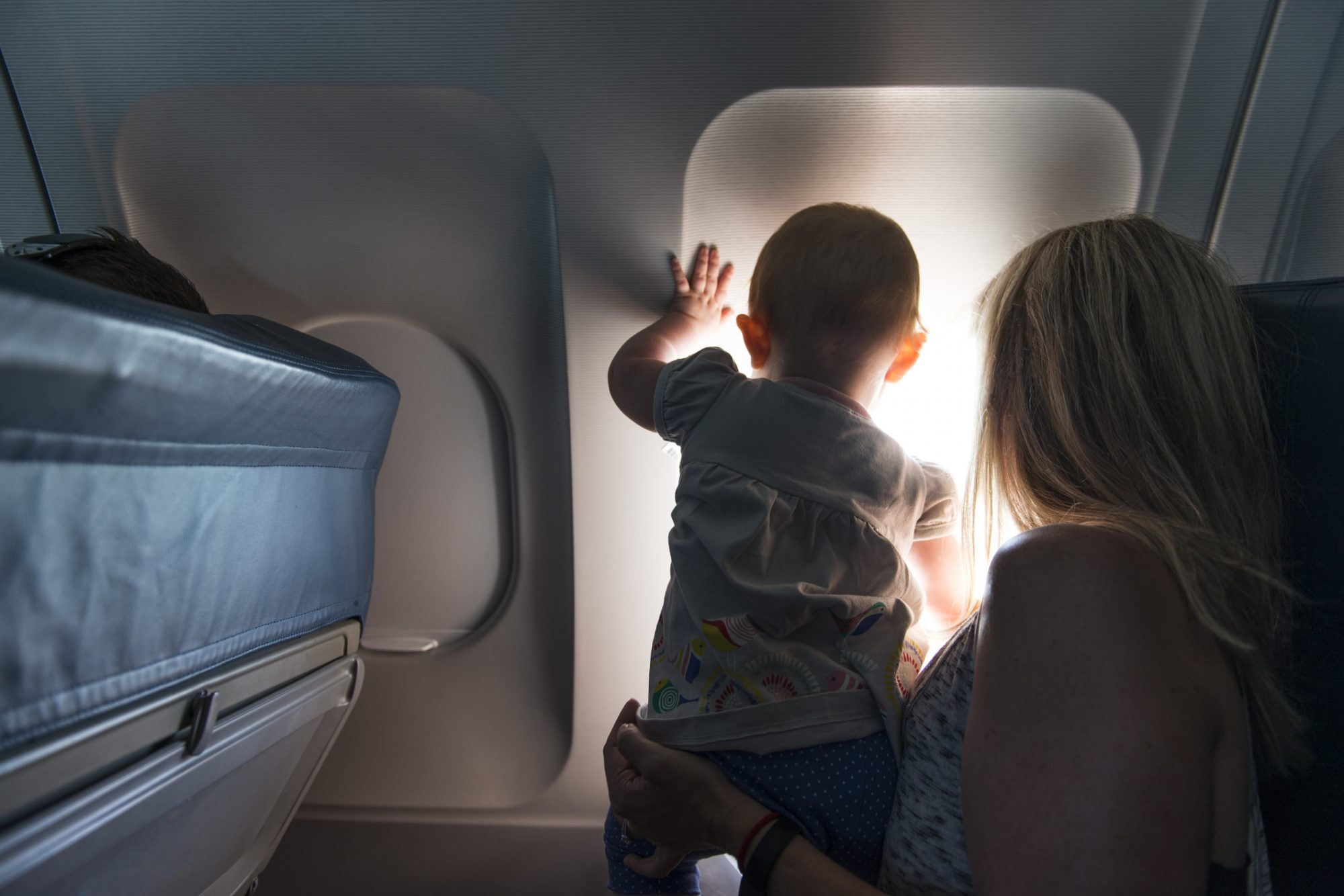 Baby on Plane