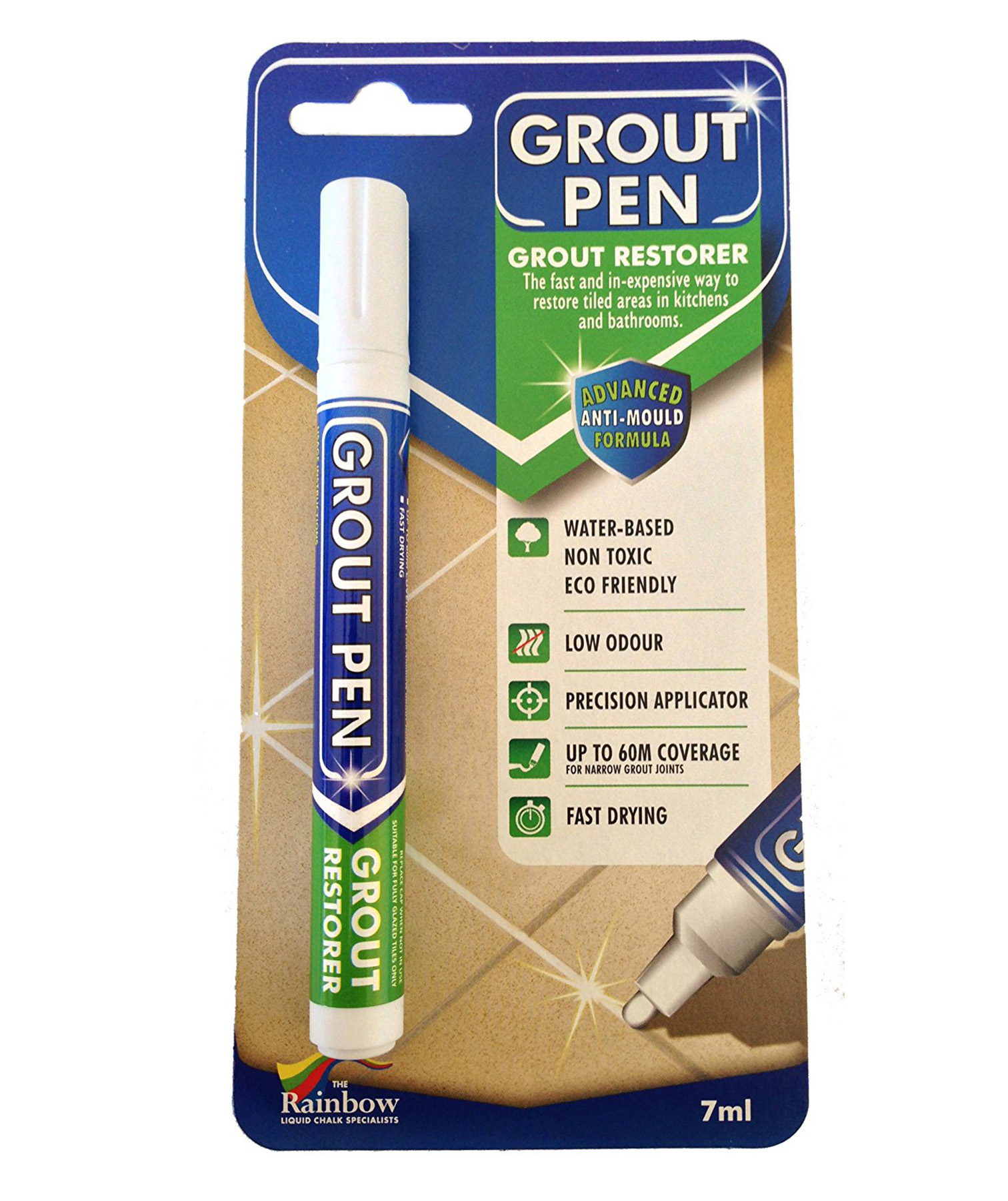 Proof That a $10 Grout Pen Is Capable of Transforming Your Entire Bathroom