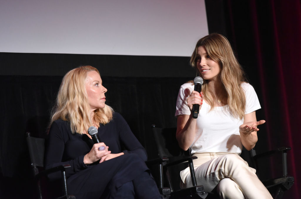 Jessica Biel at Makers Conference