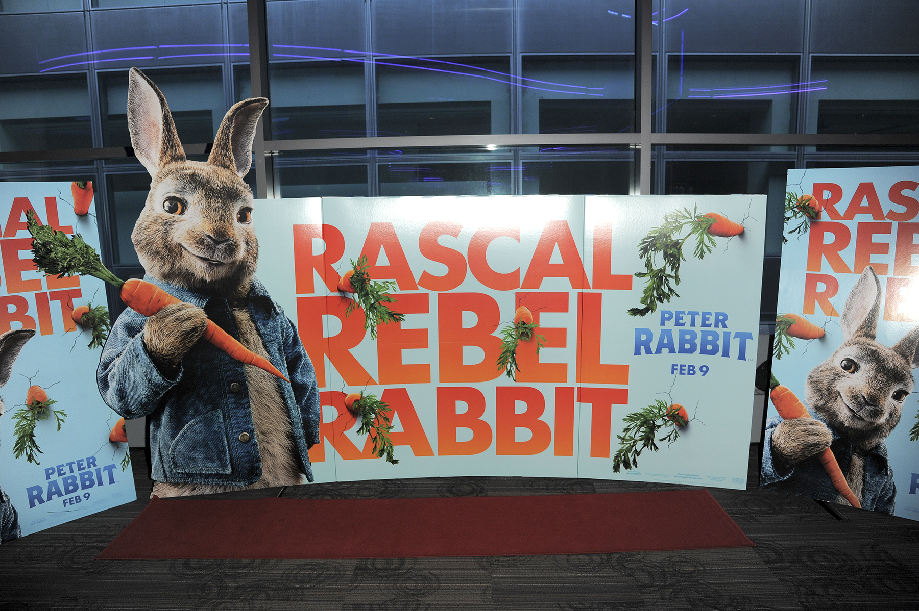 Peter Rabbit promo poster