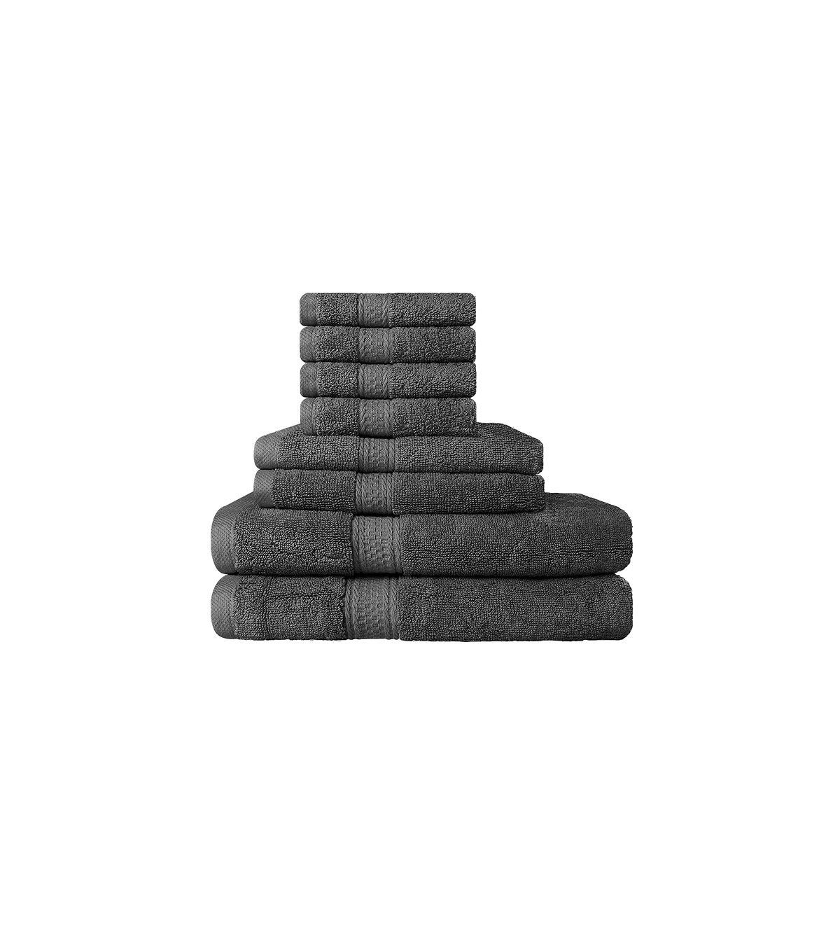 Premium 8 Piece Towel Set