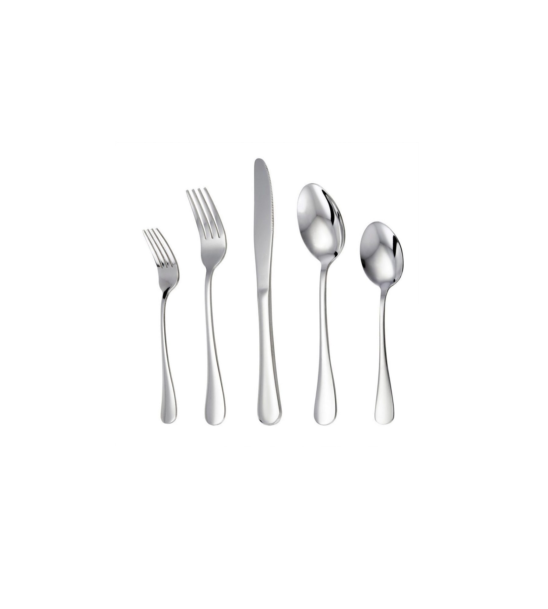 20-Piece Stainless Steel Flatware Set