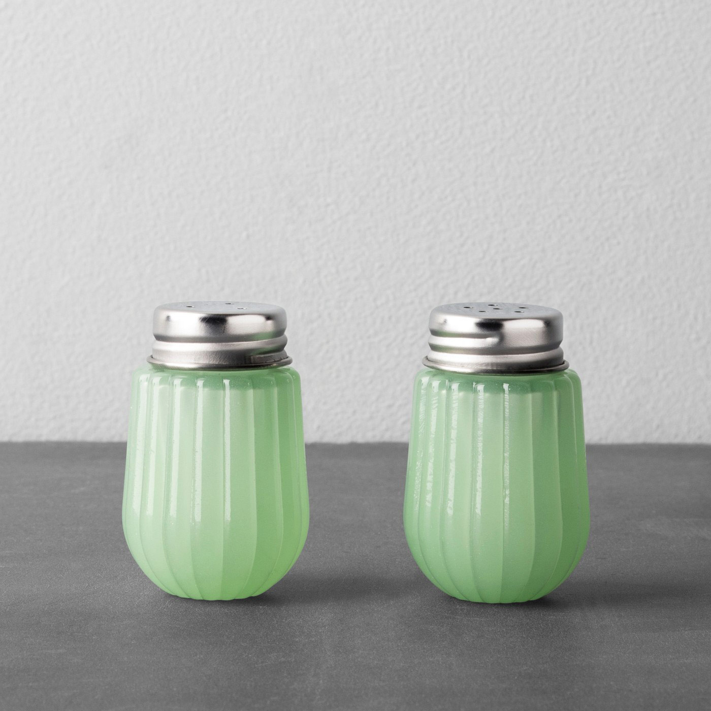 Glass Salt and Pepper Set