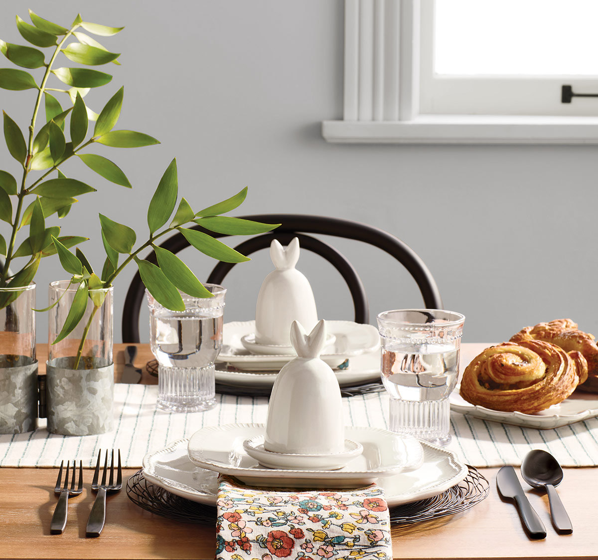 Hearth and Hand Spring Table Setting