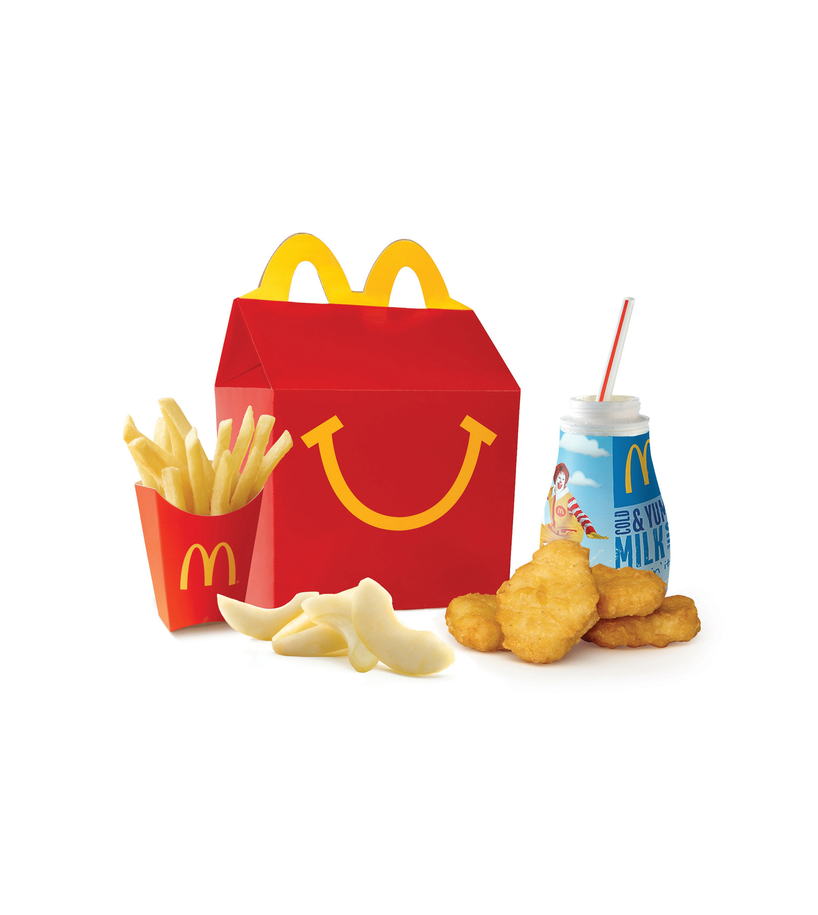 McDonald's nixes cheeseburger from Happy Meal as part of larger health push