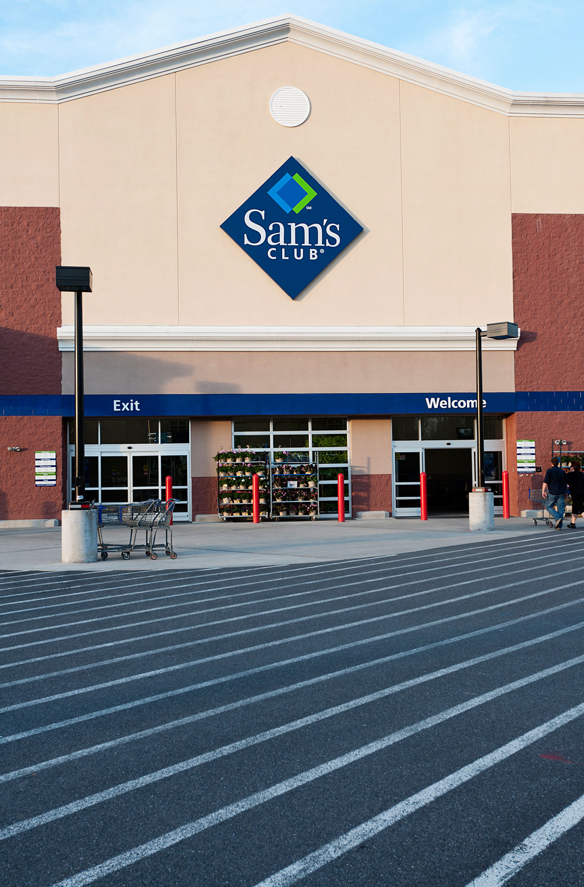 Sam's Club Entrance