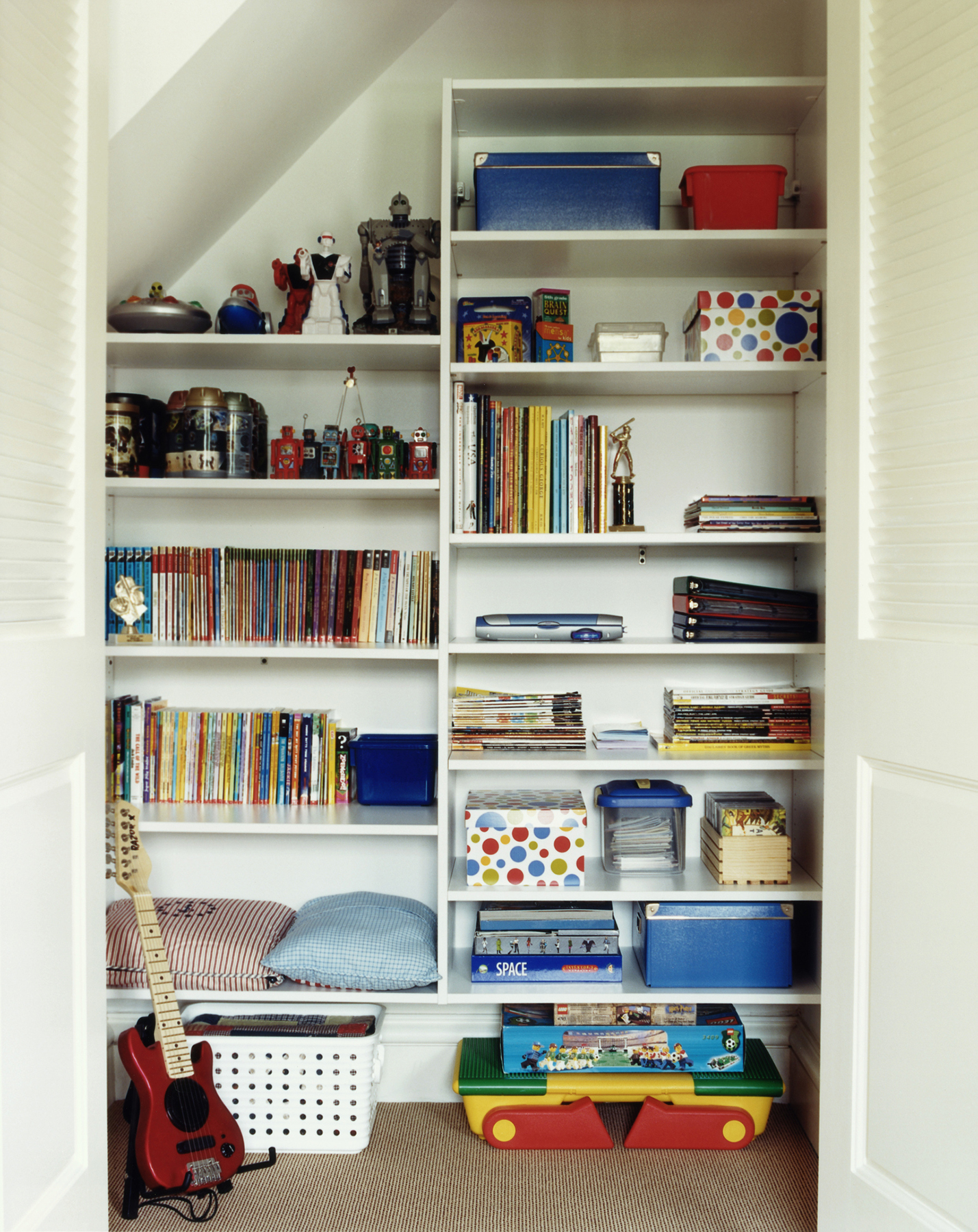 Organized toy playroom