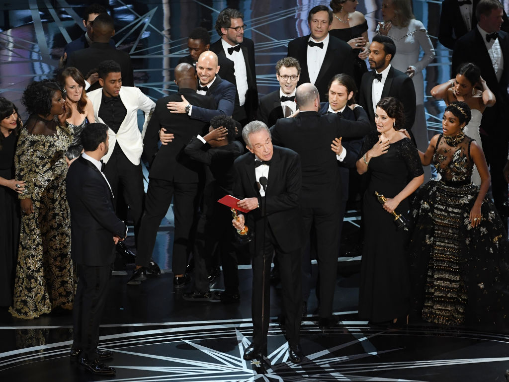 Moonlight winning best picture