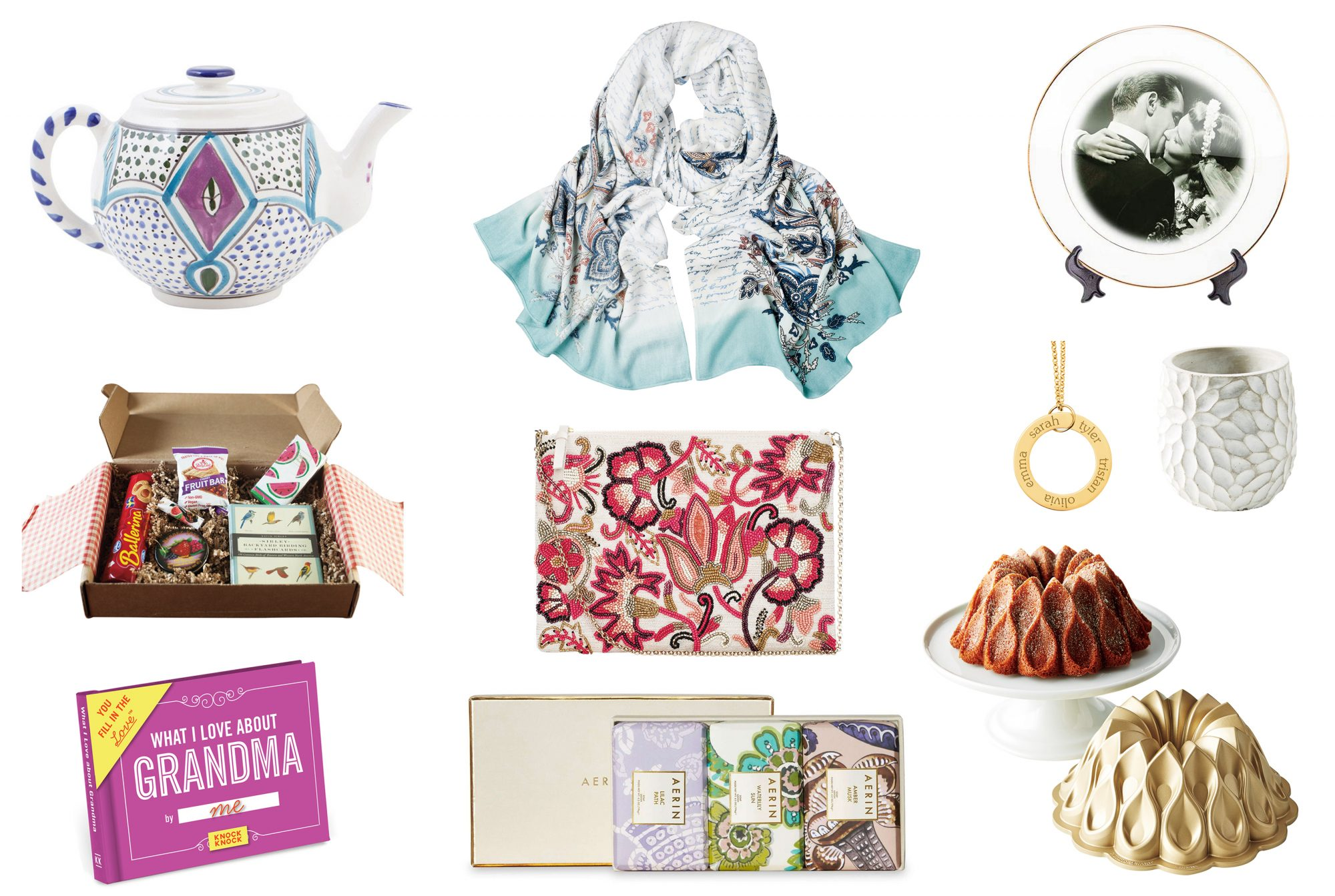 Grandmother Mother's Day Gifts Tout