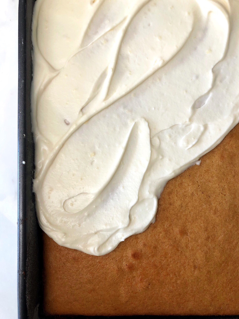 <p>Honey Mascarpone Cream Cheese Frosting</p>