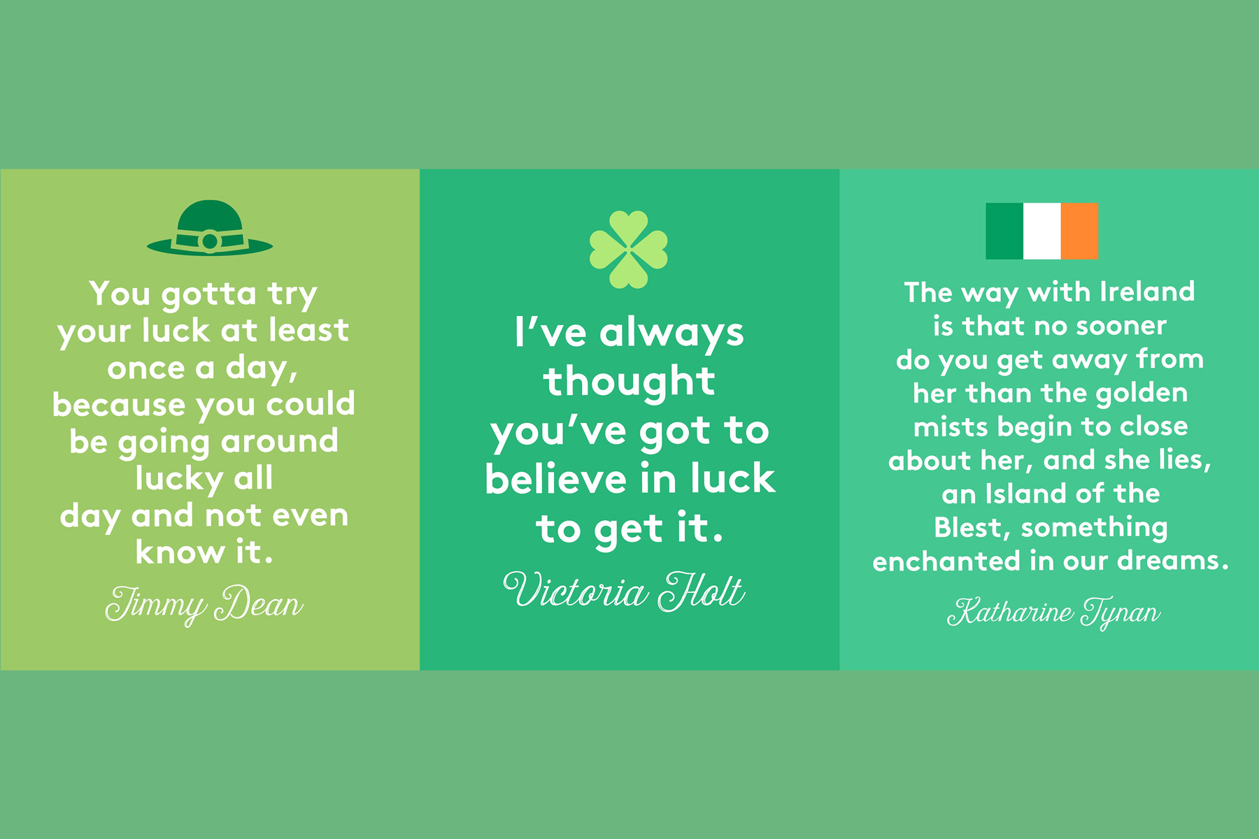 St. Patrick's Day Quotes Tout