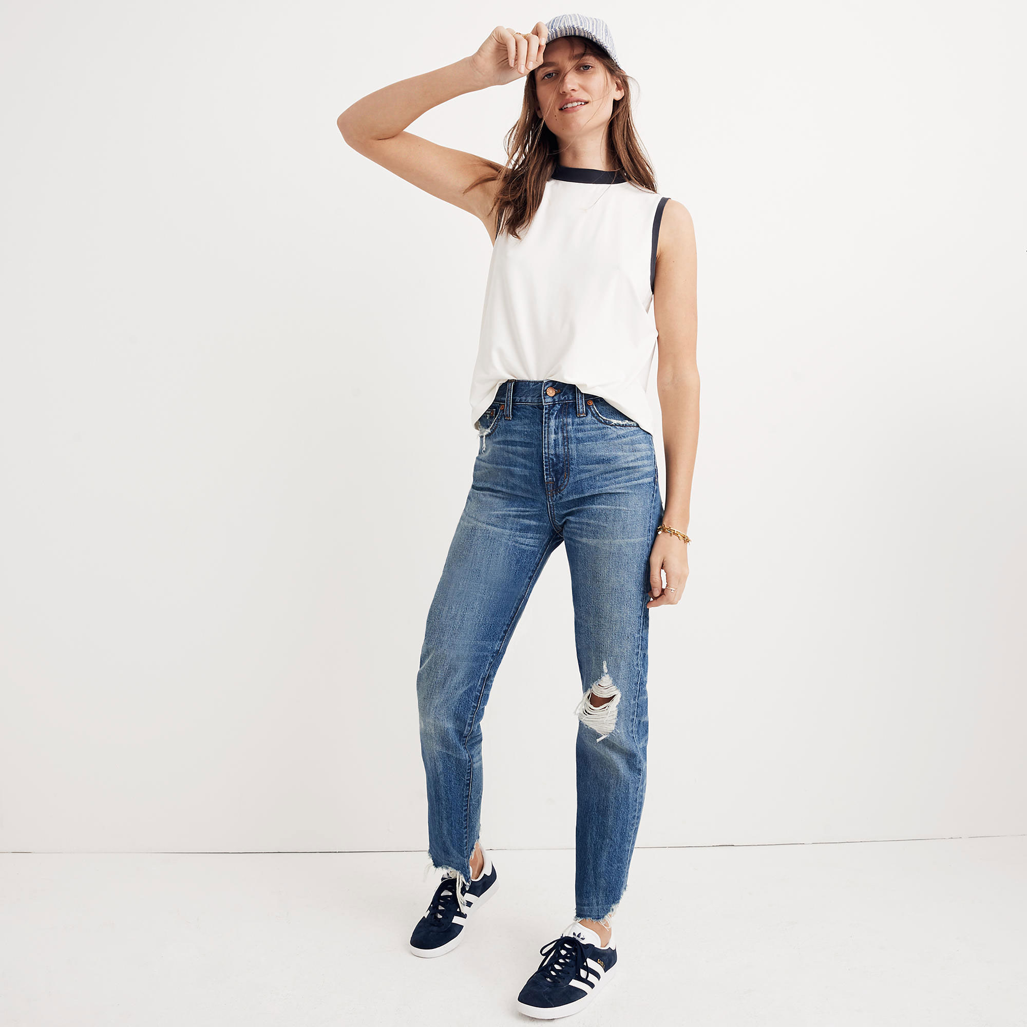 967d006d7b The Perfect Summer Jean: Destructed Edition. Distressed jeans. Distressed  jeans. madewell.com