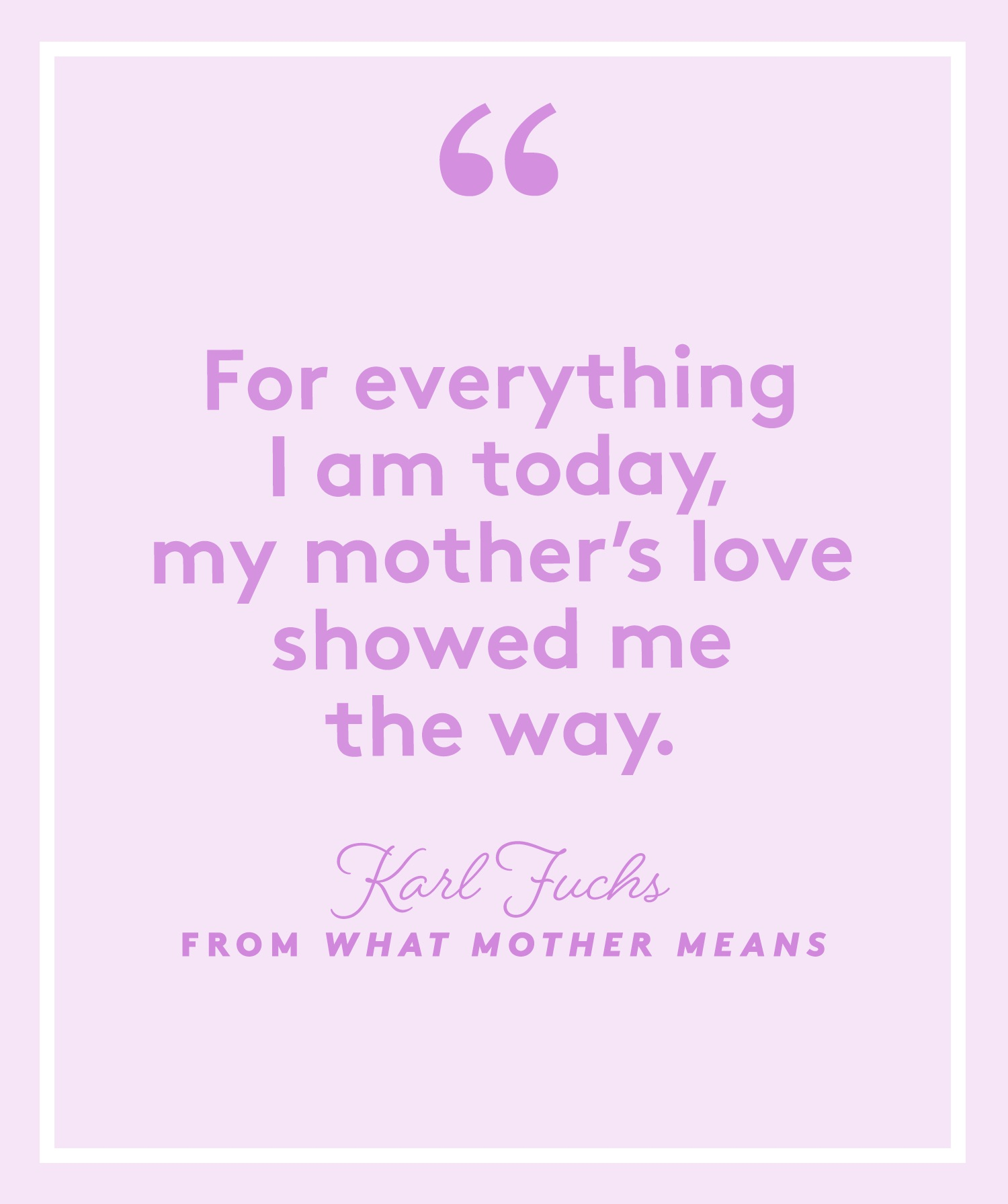 What Mother Means