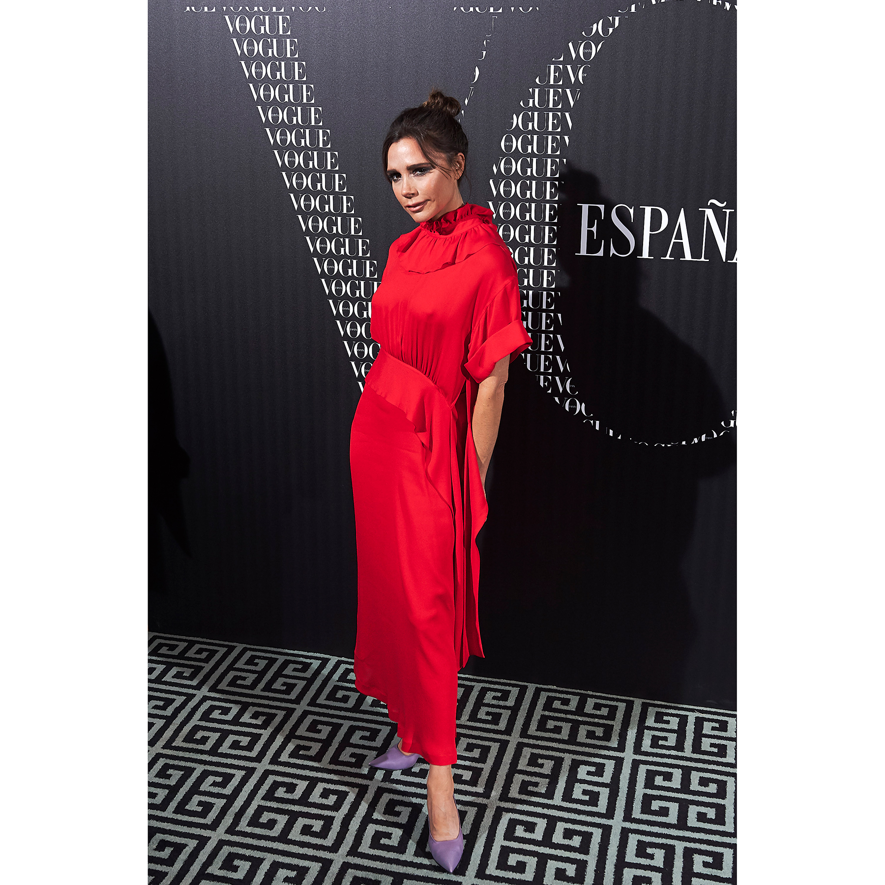 Victoria Beckham's Simple Shoe Styling Hack Will Change Your Life