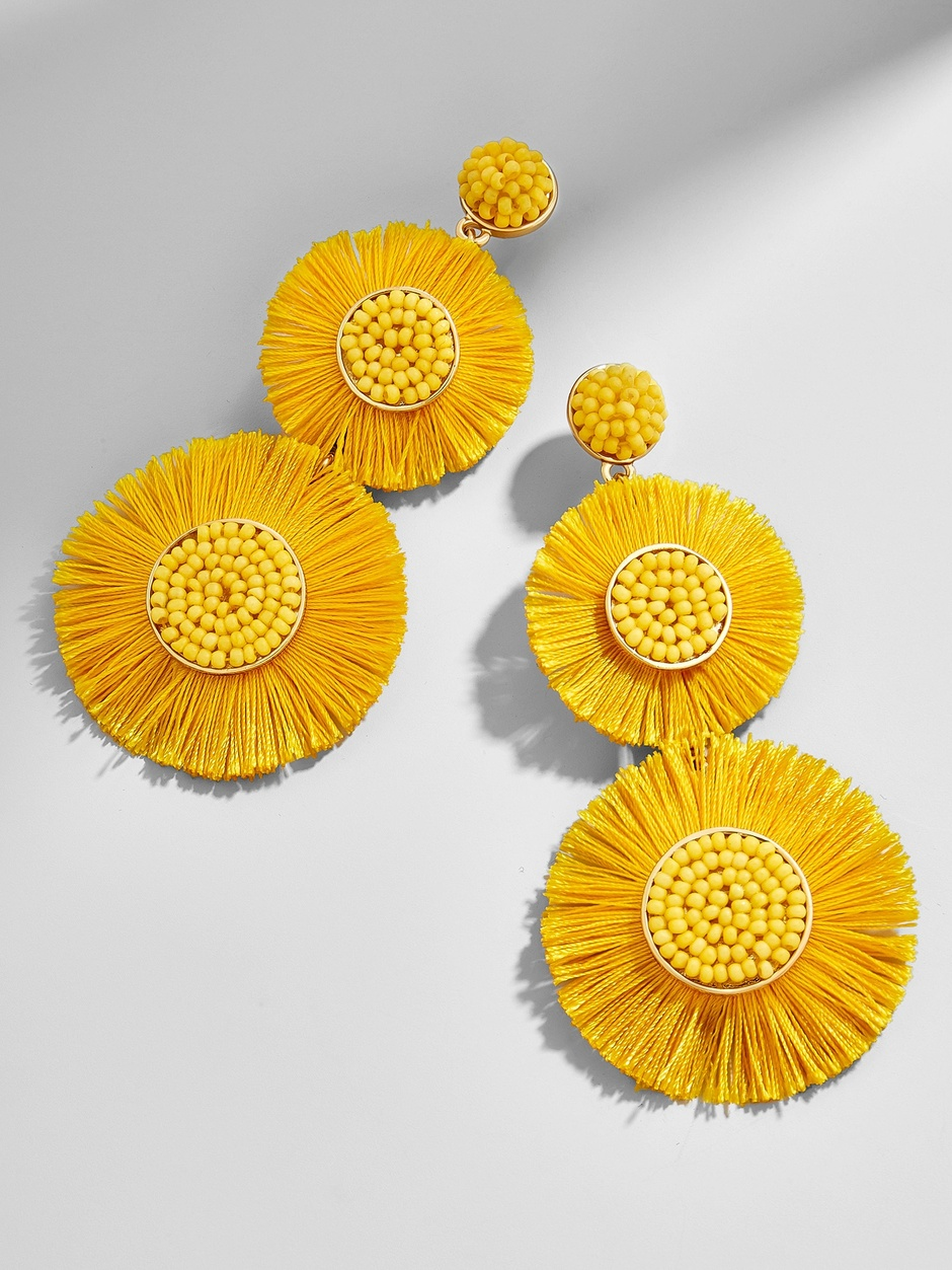 Mariette Fringe Drop Earrings
