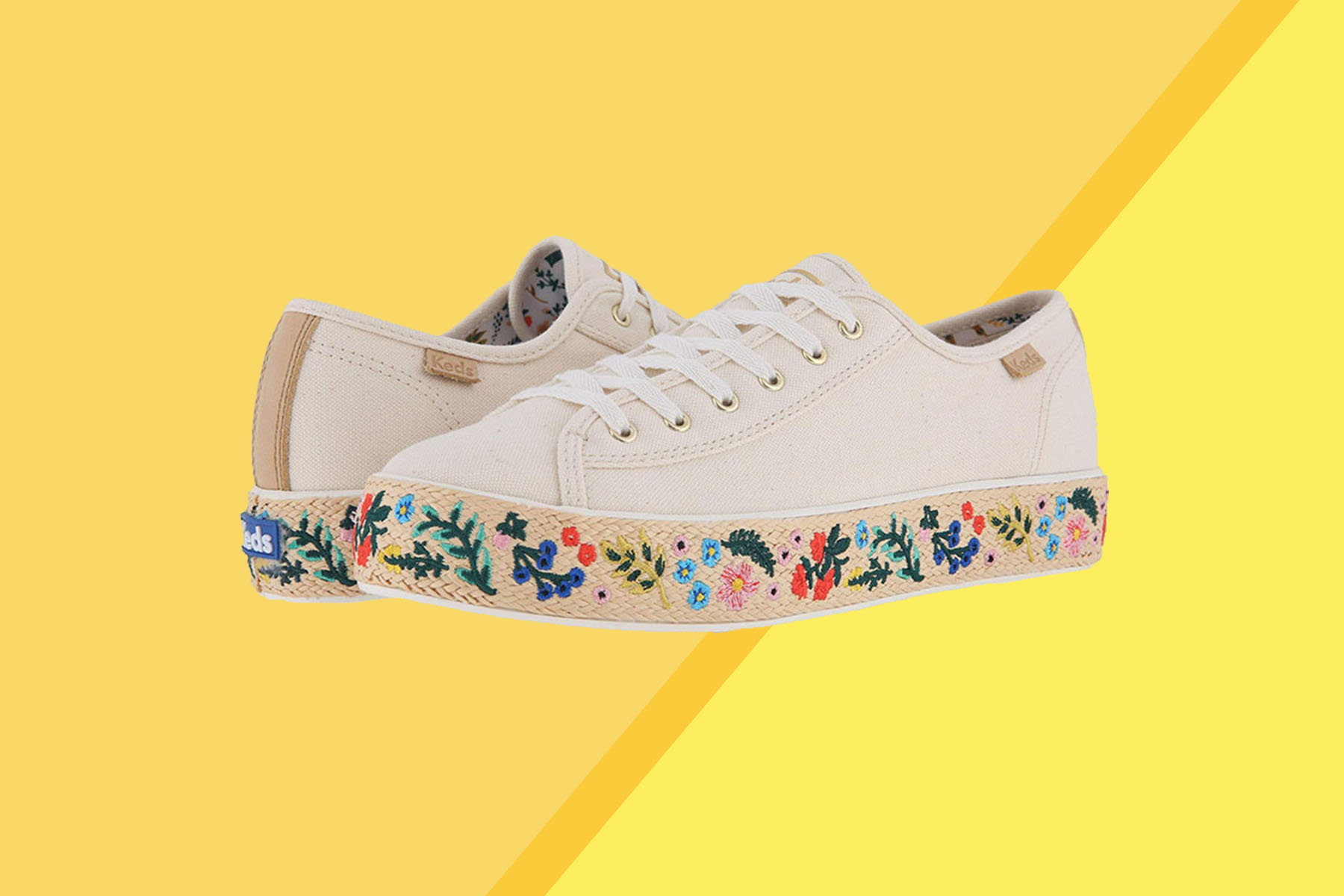 Zappos Floral Sneakers