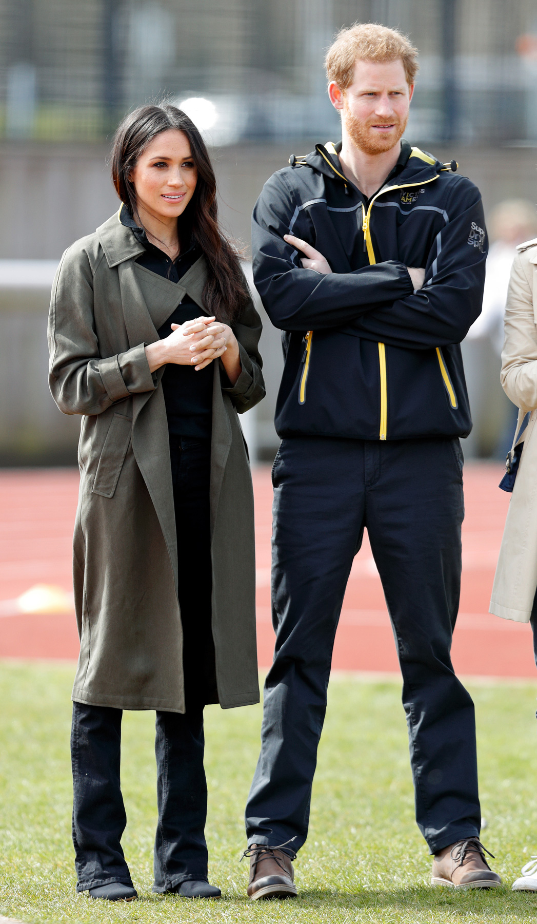 Prince Harry And Meghan Markle at Trials for the Invictus Games
