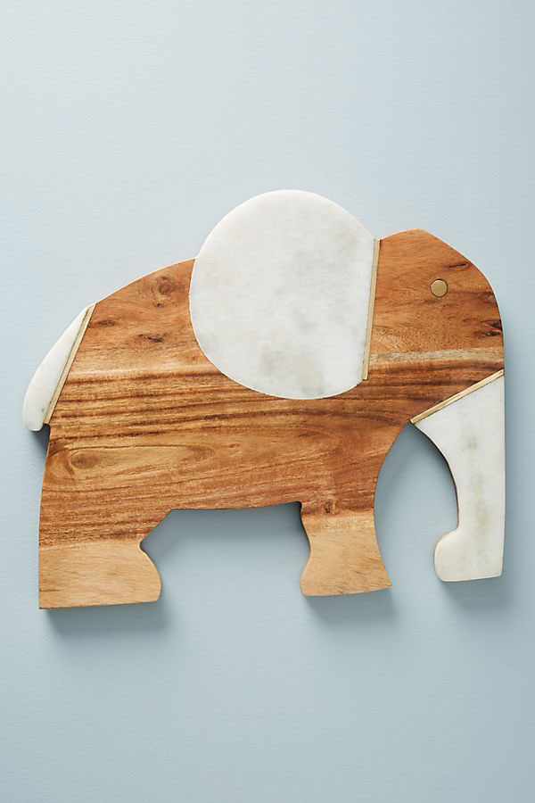 Elephant Cheese Board