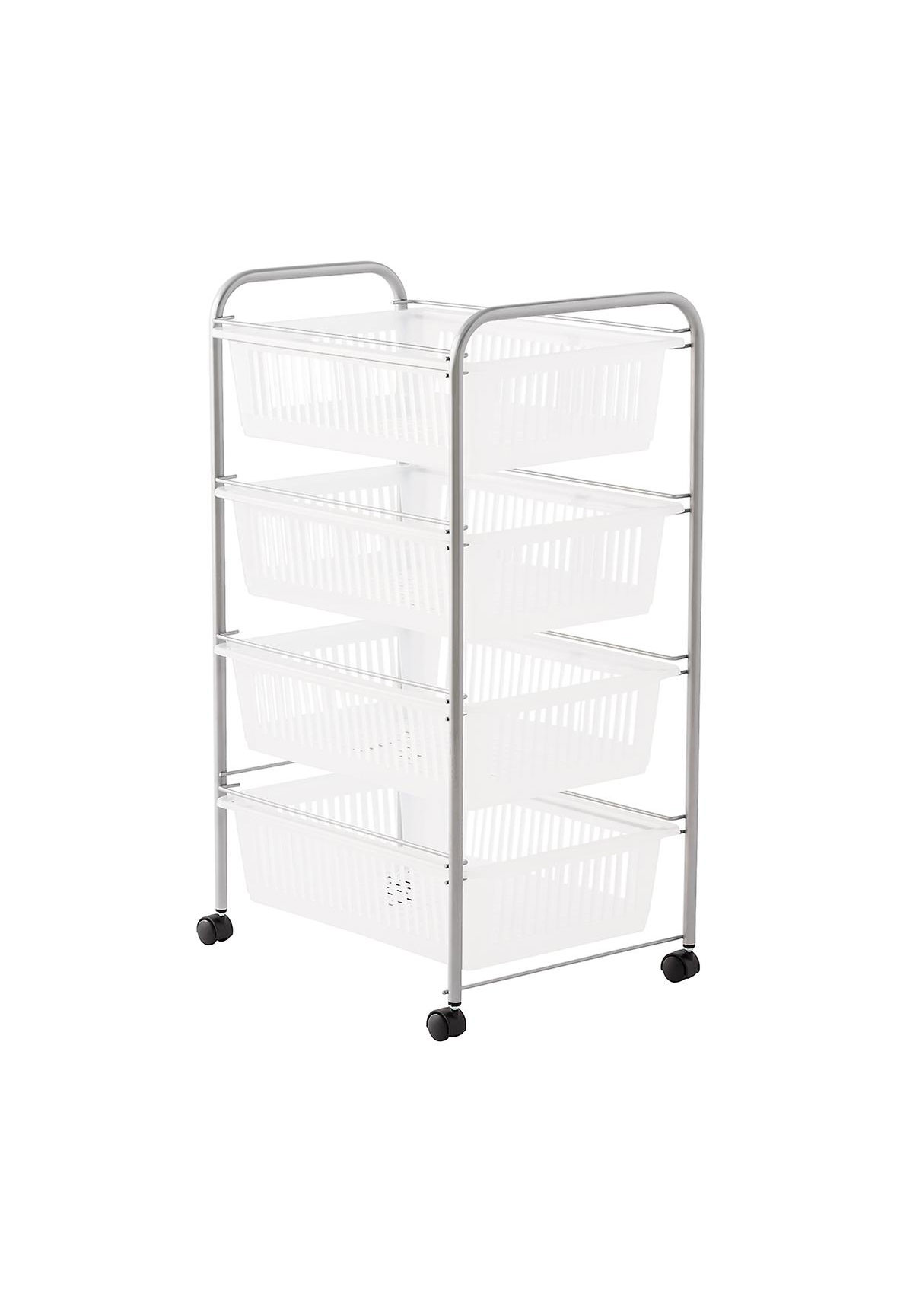 Jumbo 4 Drawer Rolling Cart