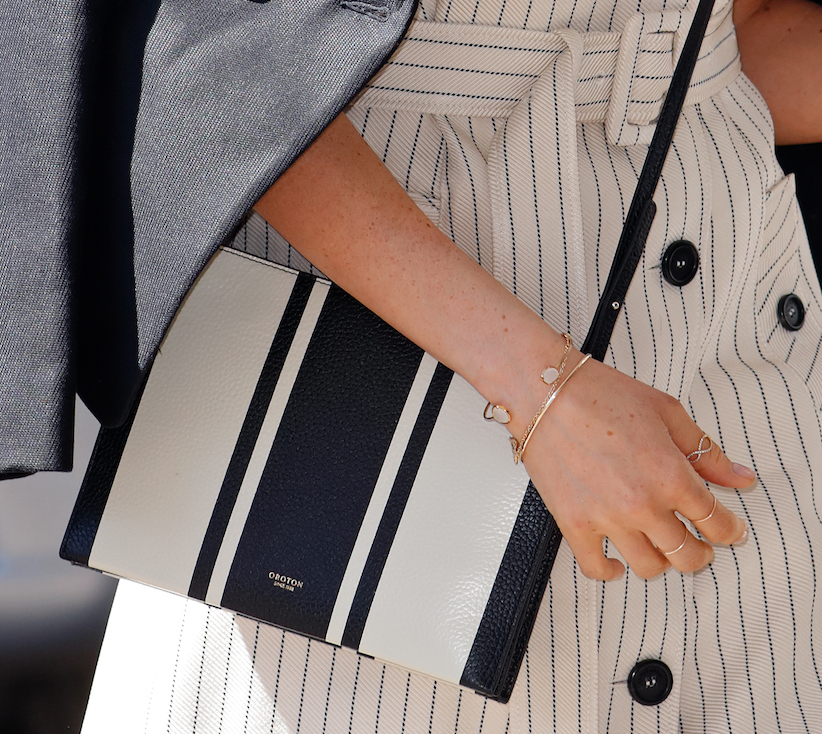 Meghan Markle Crossbody Bag Closeup