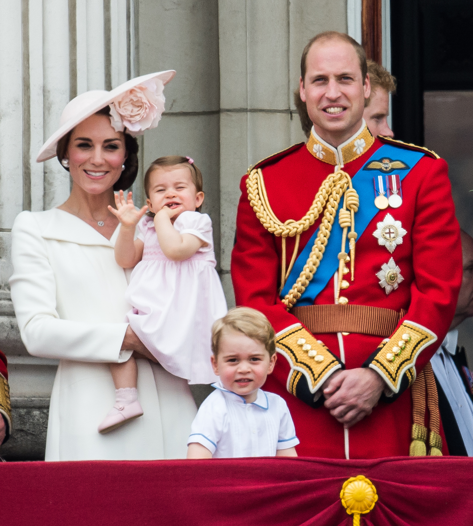 Kate Middle and Prince William With Kids