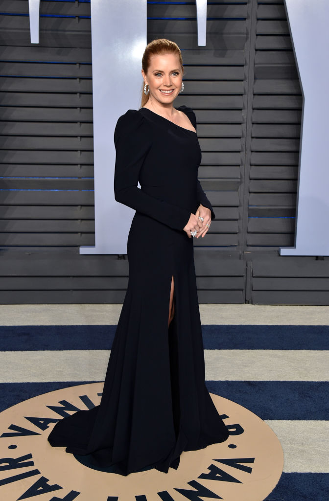 Amy Adams at 2018 Vanity Fair Oscar Party