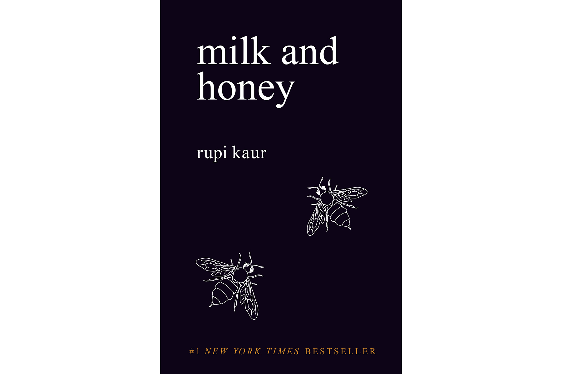Milk and Honey, by Rupi Kaur