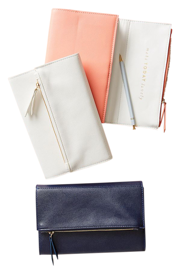 Zippered Clutch Journal