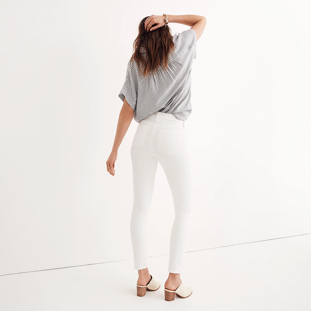 <p>I Get Compliments Every Time I Wear These Insanely Comfortable White Jeans</p>