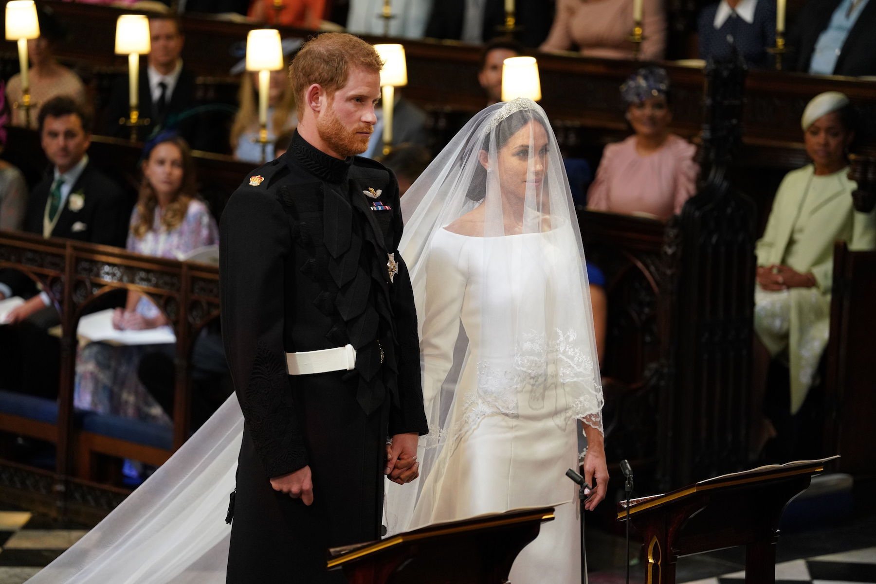 The Moment We've Been Waiting For! See Meghan Markle's Stunning Wedding Dress