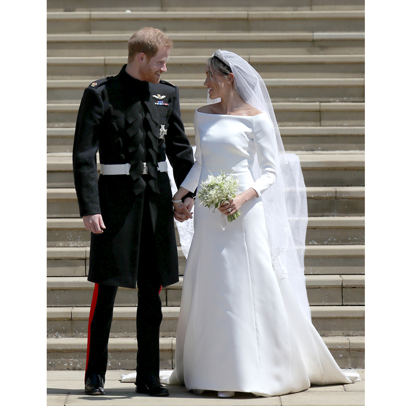 Markle Wedding Dress.7 Facts You Didn T Know About Meghan Markle S Wedding Dress Real