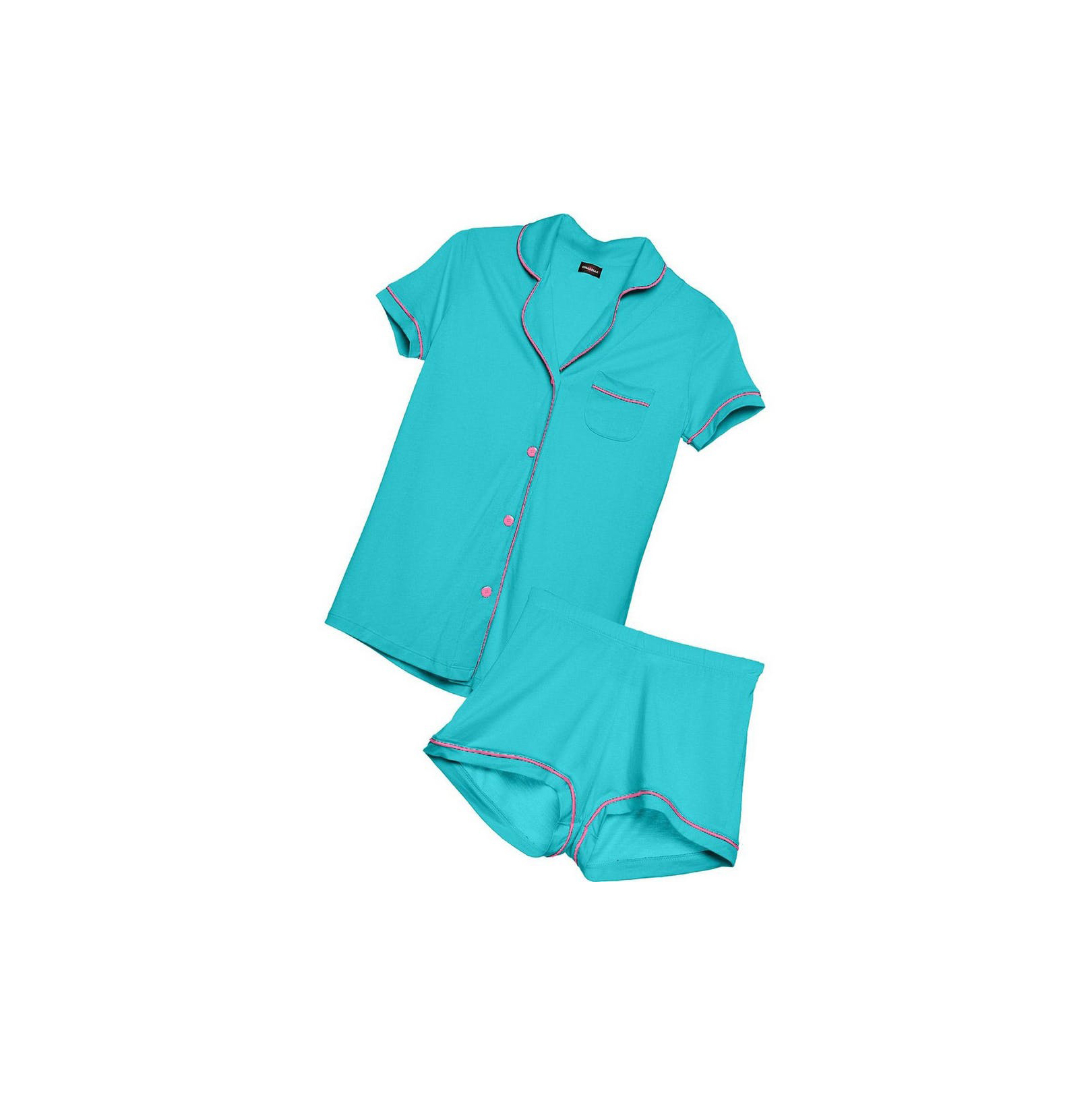 Cosabella Bella Plus Short Sleeve and Boxer Pajama Set