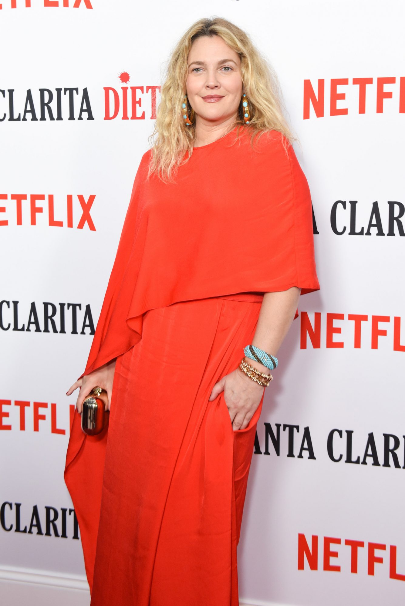 Drew Barrymore at the 'Santa Clarita Diet' Season 2 Premiere