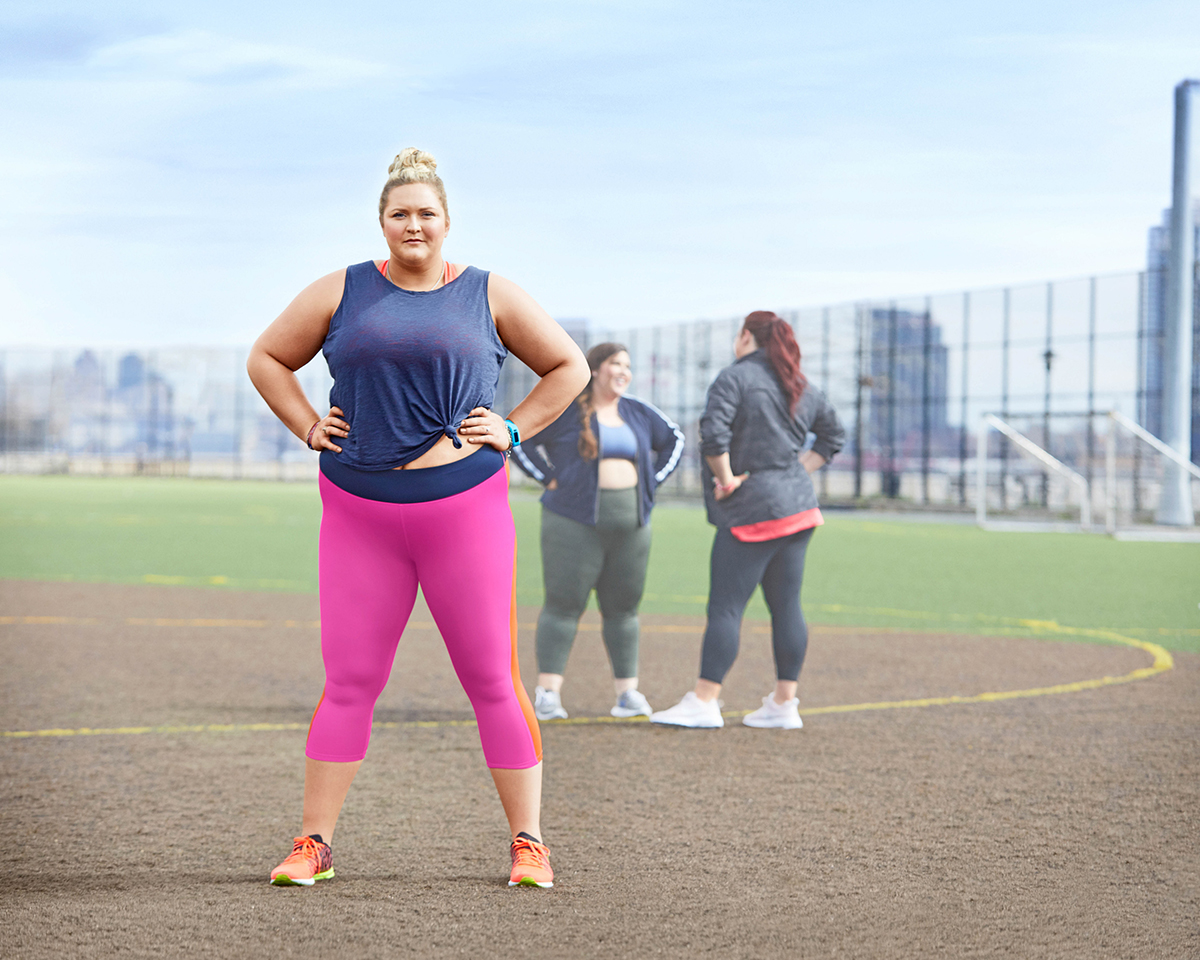 This New Activewear Campaign For Curvy Women Is So