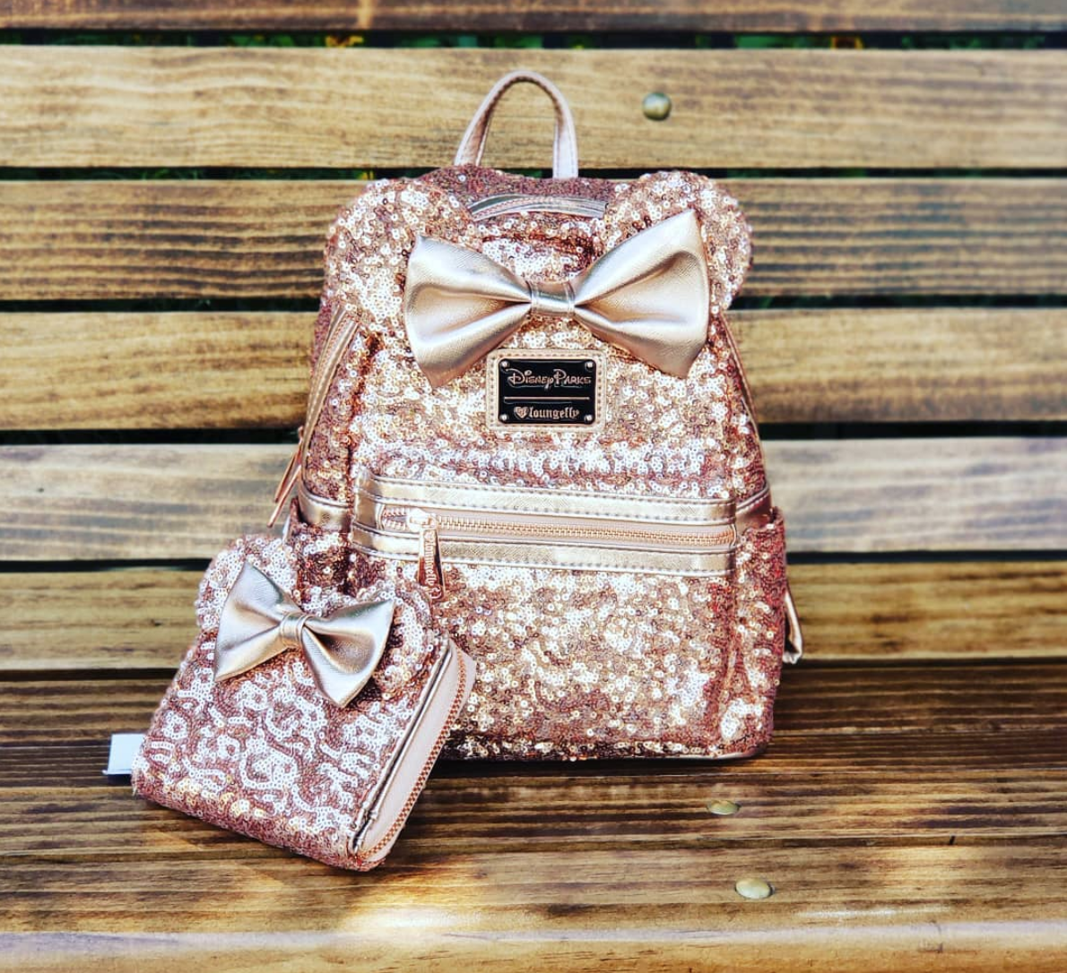 a0407a41925 Disney Fans Are Absolutely Obsessed With This New Rose Gold Backpack ...