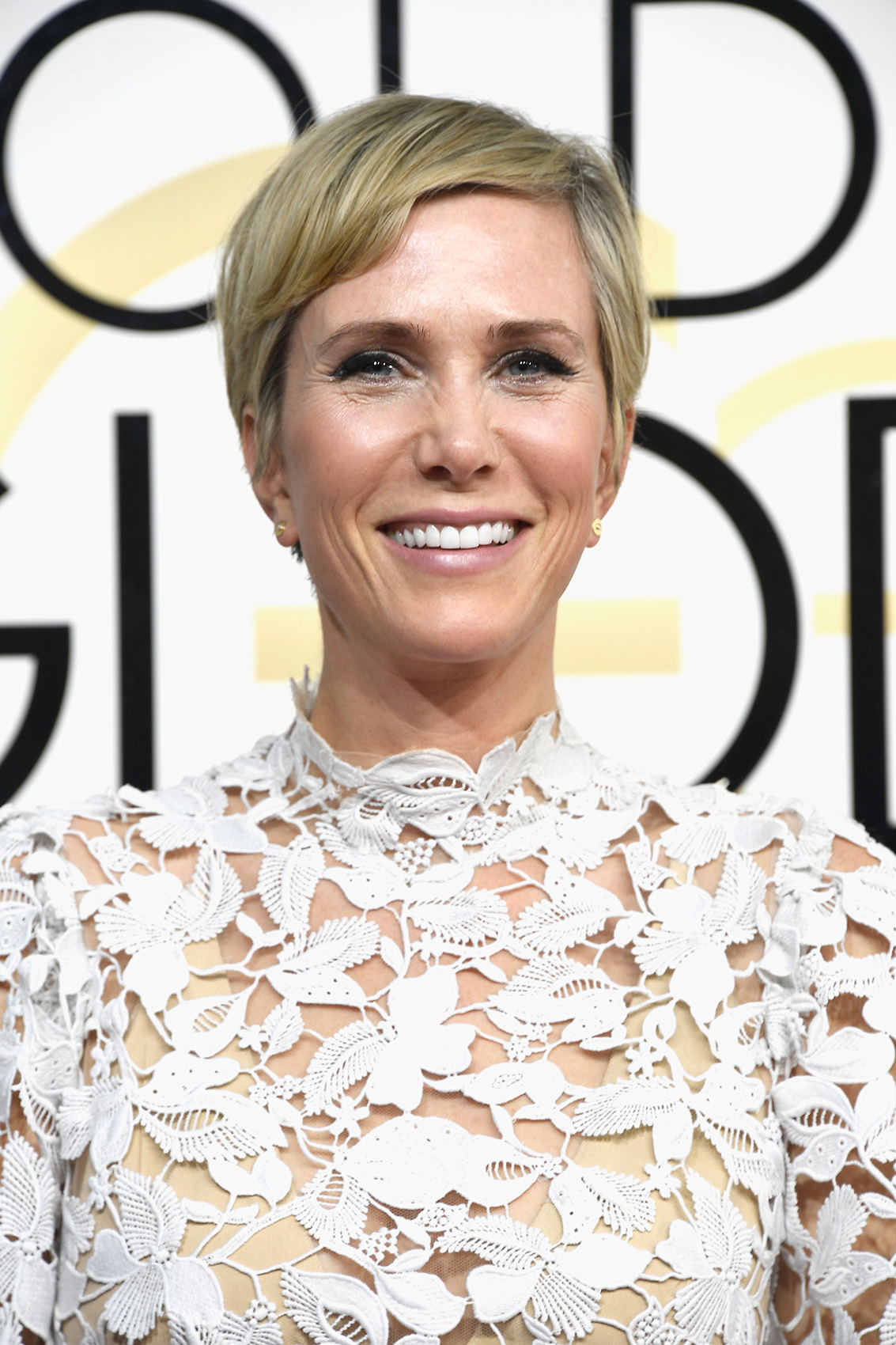 Kristen Wiig at the 74th Annual Golden Globe Awards