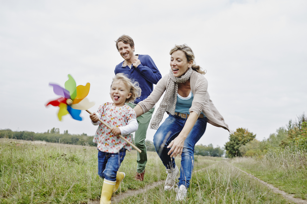 A Family Doing a Free Activity Together on the Weekend