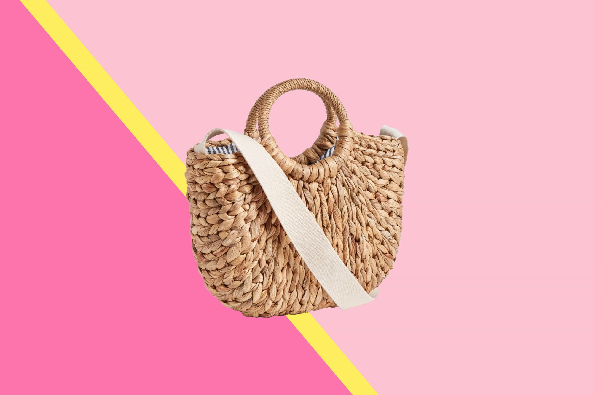 9fff01be6 17 Straw Bags, Totes, Beach Bags, and Clutches Under $100 | Real Simple