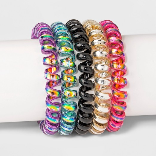 Spiral Hair Ties From Target 254186378f5