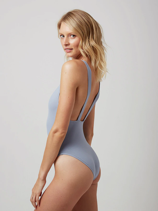 Blue One Piece Swimsuit From Andie Swim