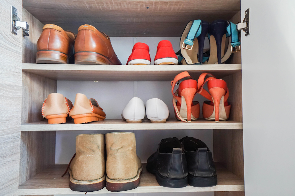 How to Keep Your Clothes and Shoes From Getting Dusty