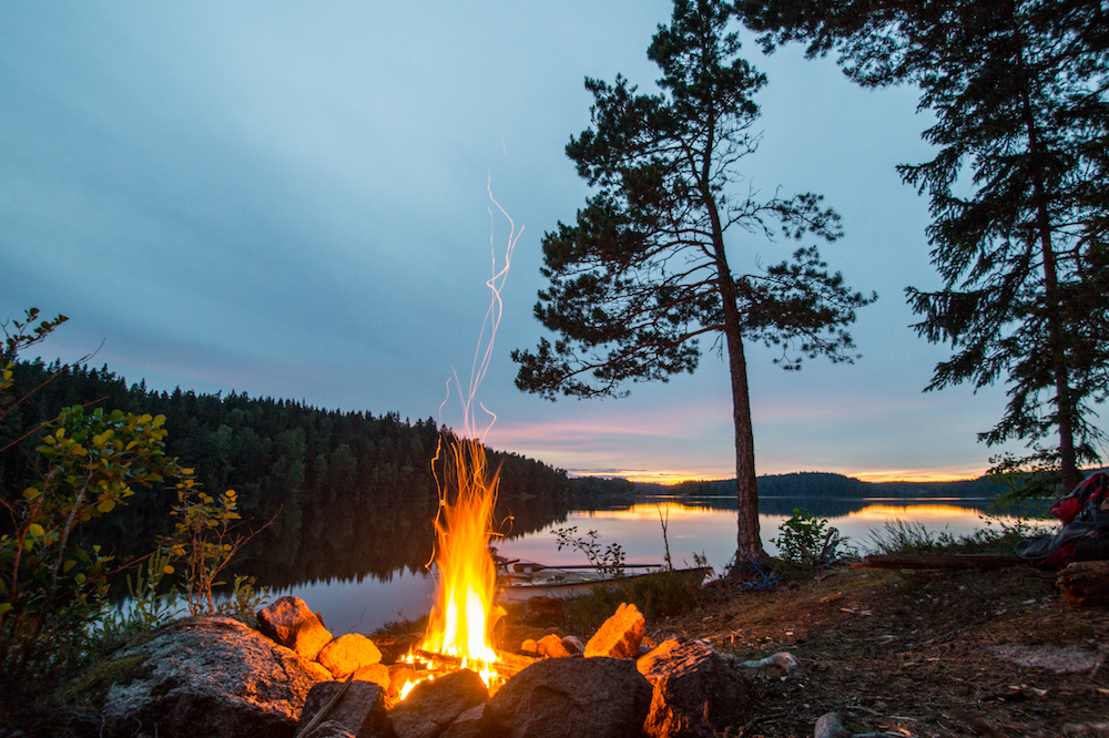 Here Are the Steps for How to Build a Fire While Camping