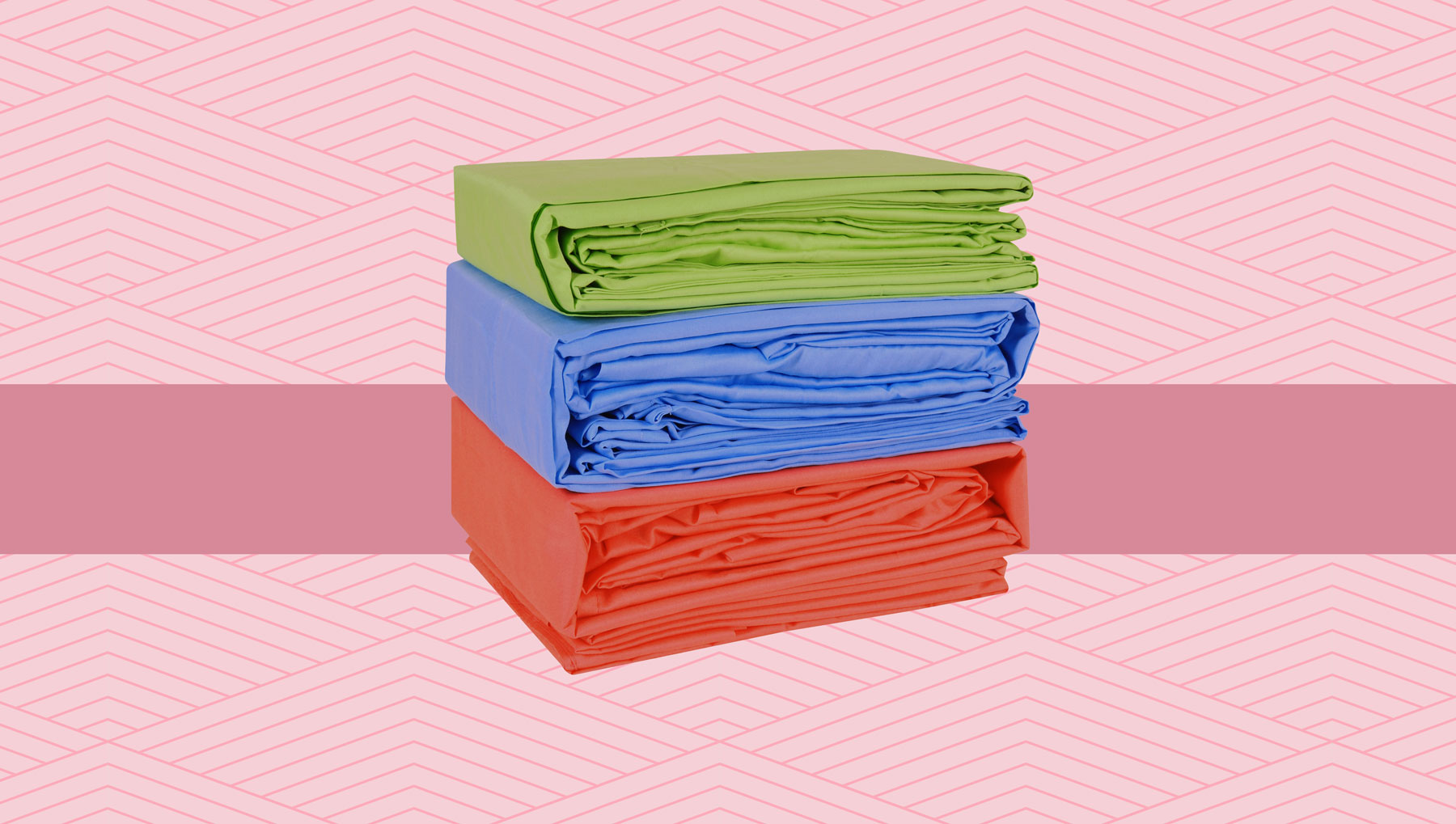 How to fold a fitted sheet - folding a fitted sheet guide