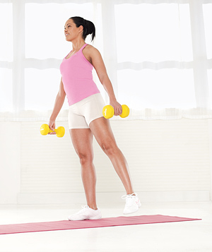 Best Move for Your Legs: The Squat and Side Lift