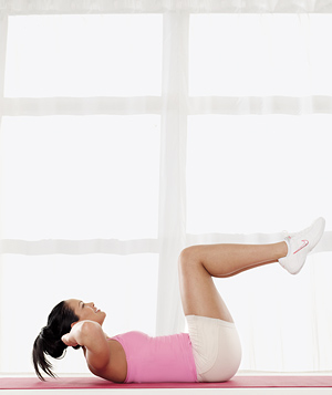 Best Move for Your Abdominals: The Super-Crunch