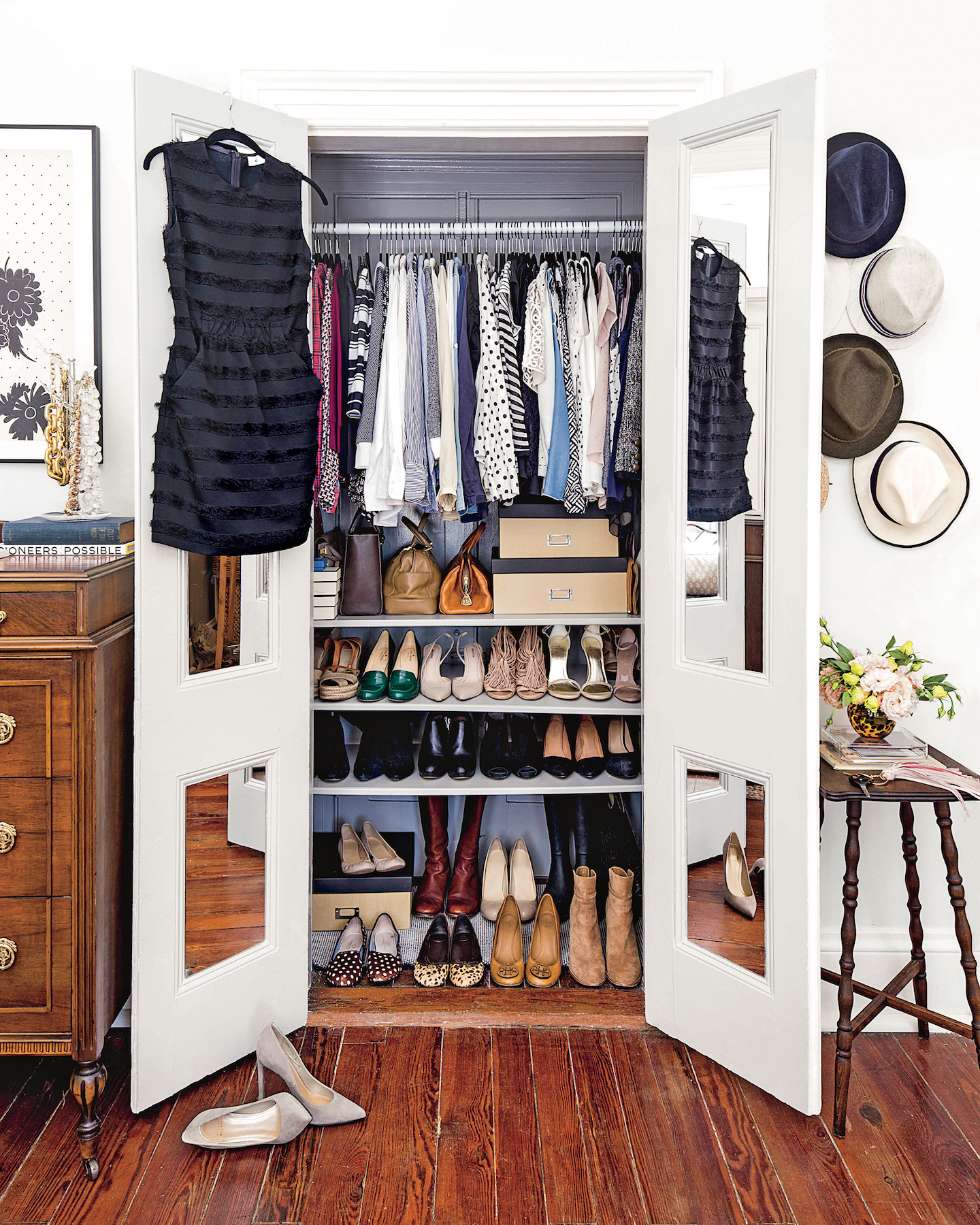 5 Brilliant Organization Ideas to Steal From the Tidiest Closets