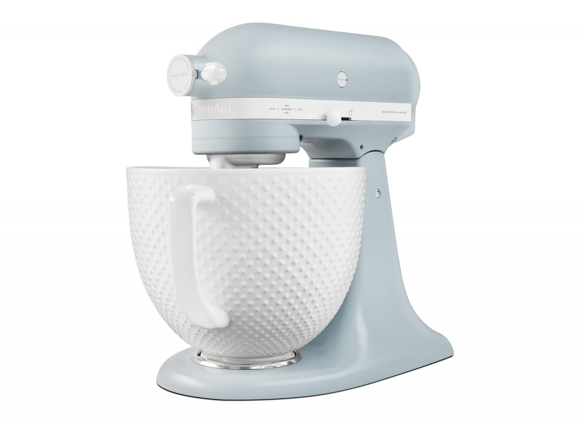 Kitchenaid Edition Stand Mixer Major Vintage Vibes Misty Blue Hobnail