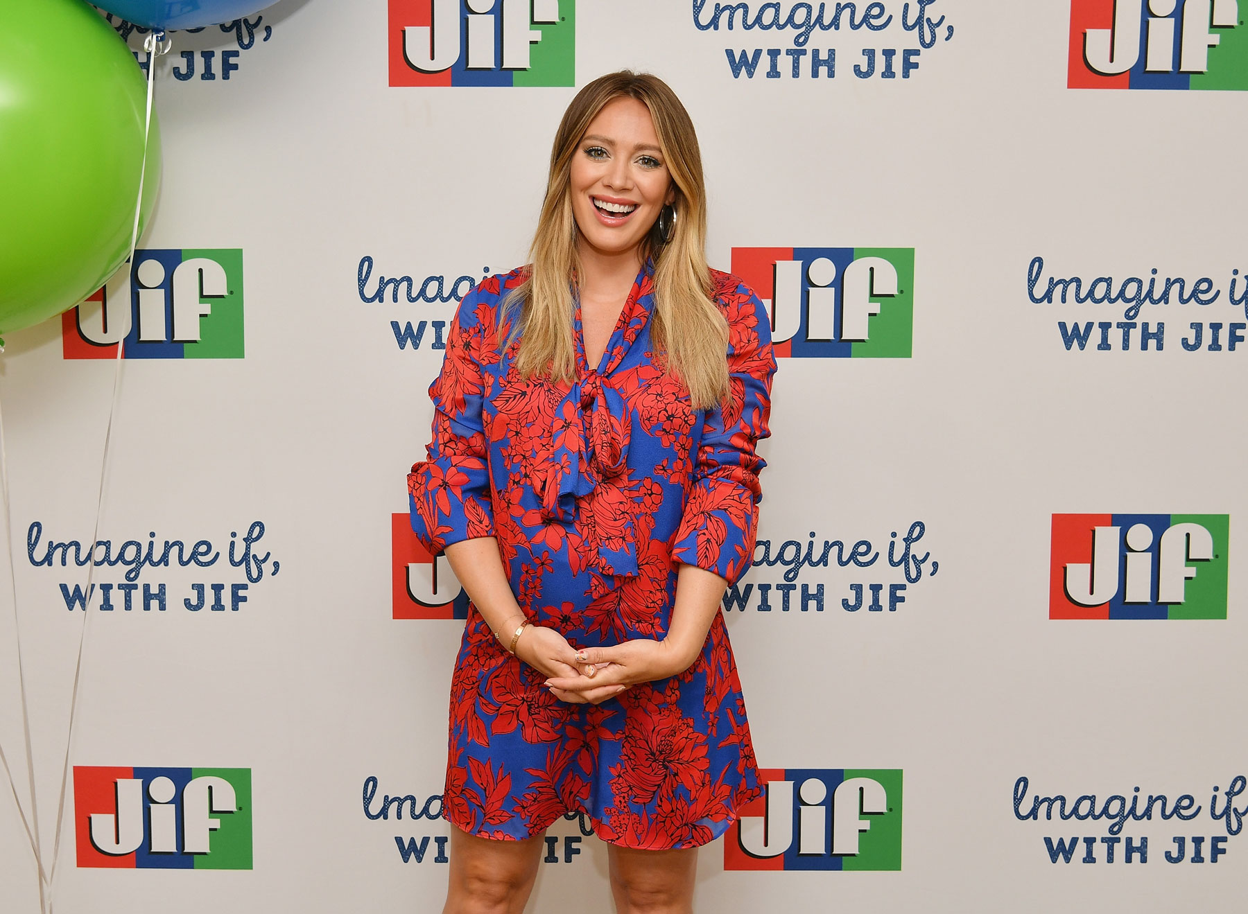 Hilary Duff and Imagine If With Jif