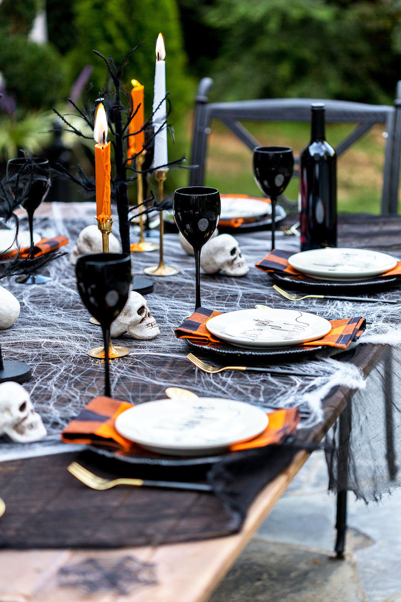 A Classic All Hallow's Eve Dinner Party
